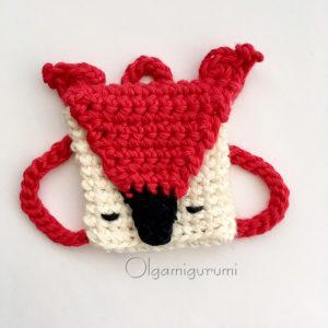 Fox Amigurumi, Mr. Furu - Free Crochet Pattern | Craft Passion | 300x300