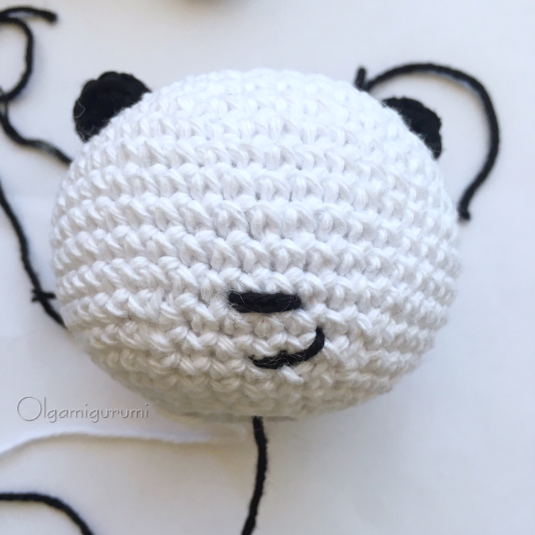 oso panda amigurumi gigante (tutorial) - YouTube | 750x750