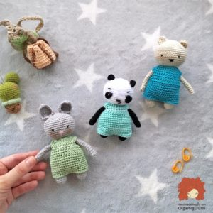 Pineapple Panda crochet pattern - Amigurumi Today | 300x300